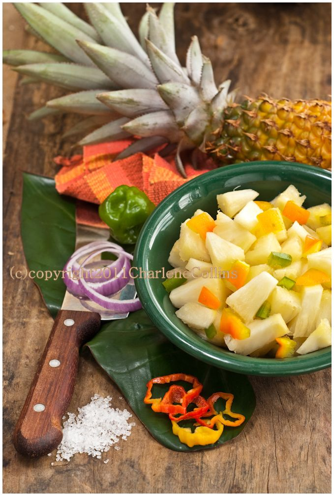 Pineapple Jamaica local kitchen