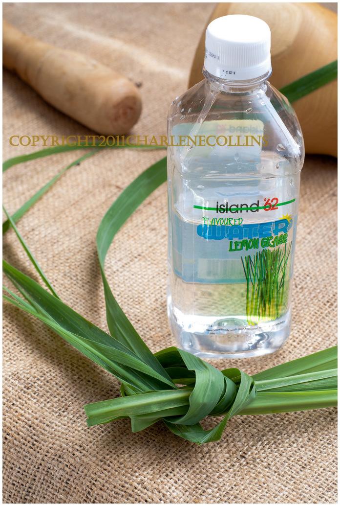 Jamaica Lemongrass flavored water local
