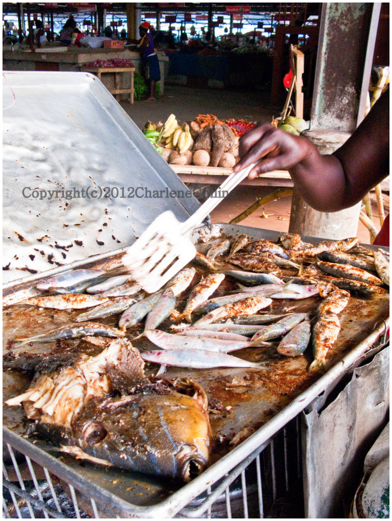 Street food jamaica food cuisine photos for Jamaica fish market