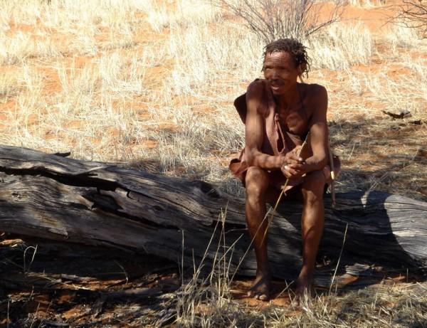 a Bushmen