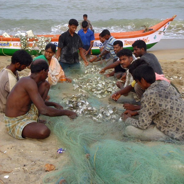 fishermen, South India