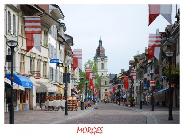 Morges, a small city in Switzerland