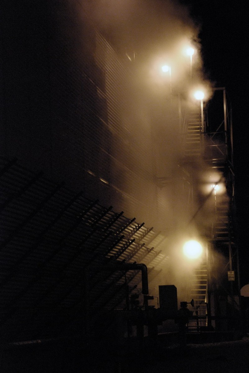 Cooling tower stairs