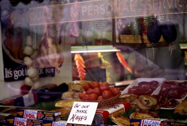 Butcher shop, Scotland