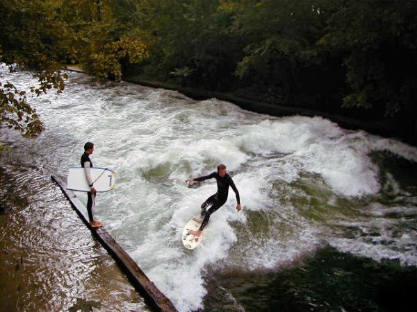 Surfing Munich