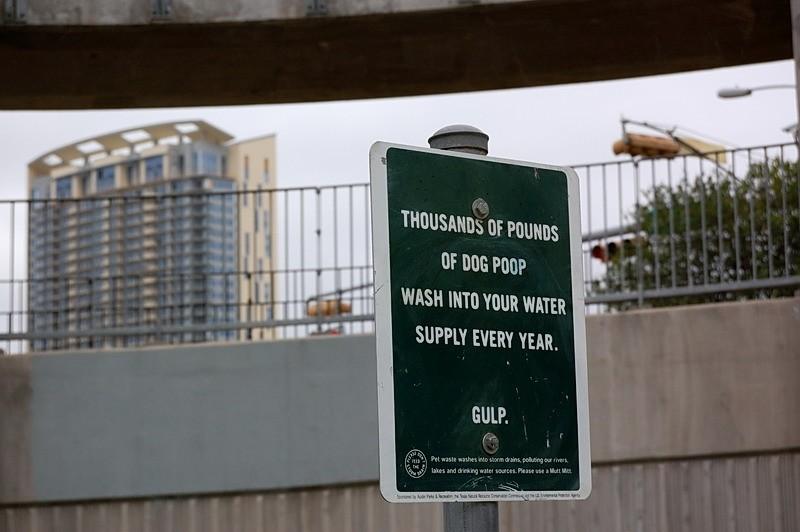 Sign at Townlake, Austin