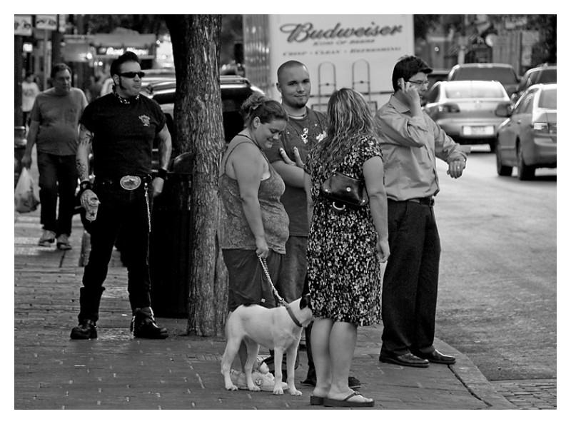 King of beers, 6th Street, Austin, Texas