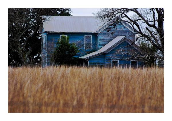 ble house rural texas