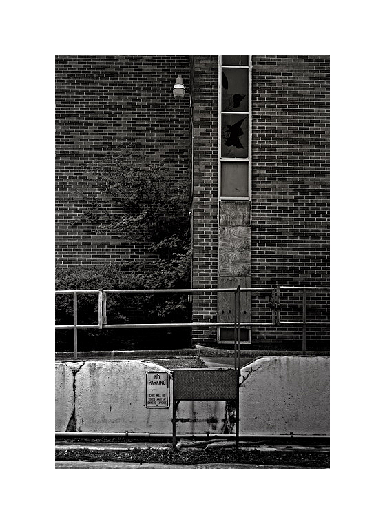 Abandoned hospital, Yoakum, Texas