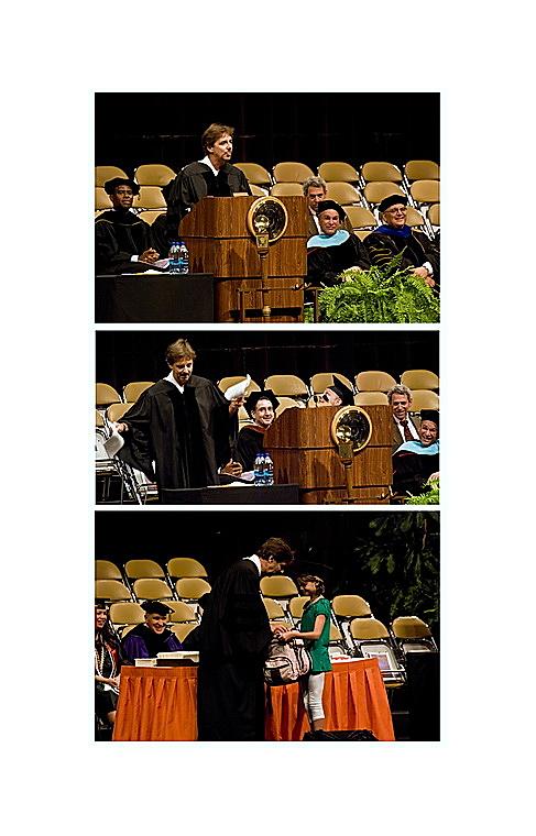 Berkeley Breathed, UT Austin Graduation