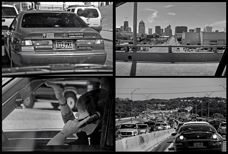 I35, Austin, Scenes in Traffic