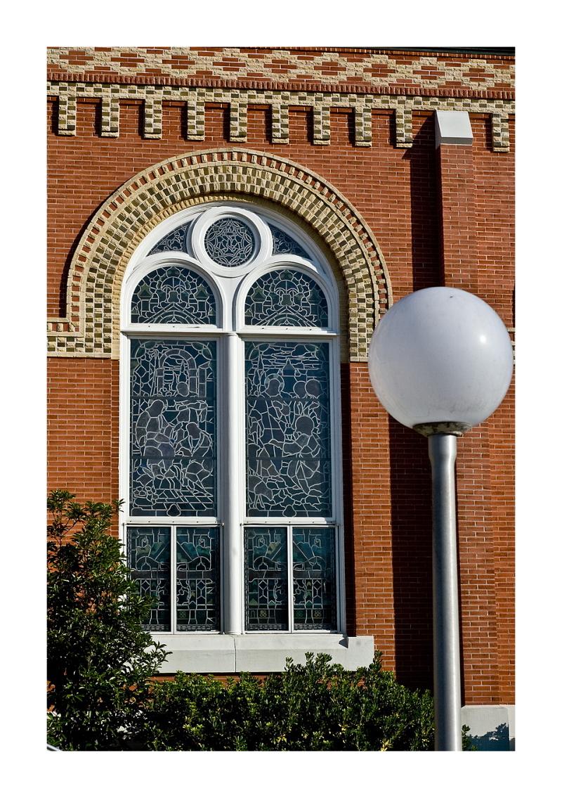 Window Detail: Cyril and Methodius Church, Shiner