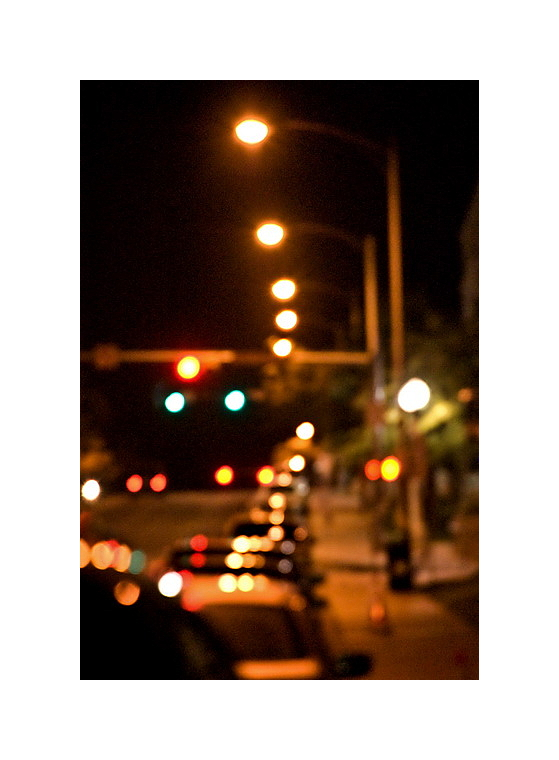 Austin Nightscapes: Dean Keaton Without My Glasses