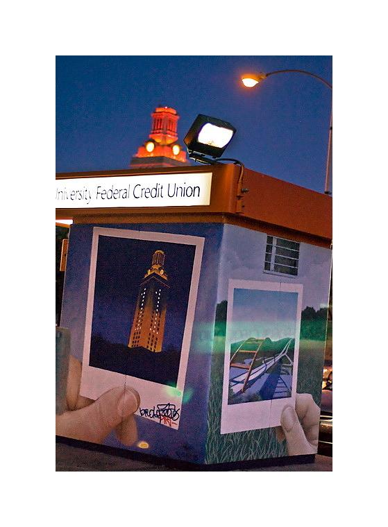Austin Nightscapes: Polaroid