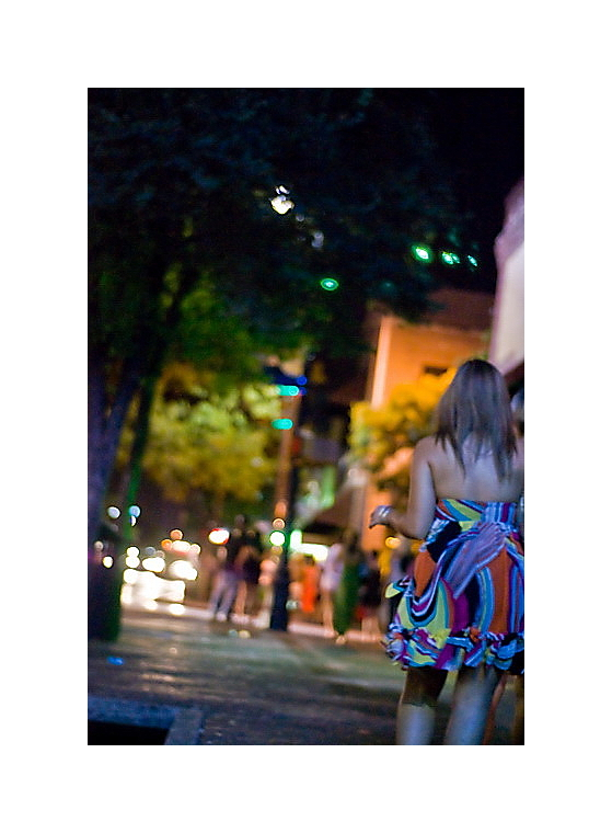 Austin Nightscapes: 6th Street Shuffle