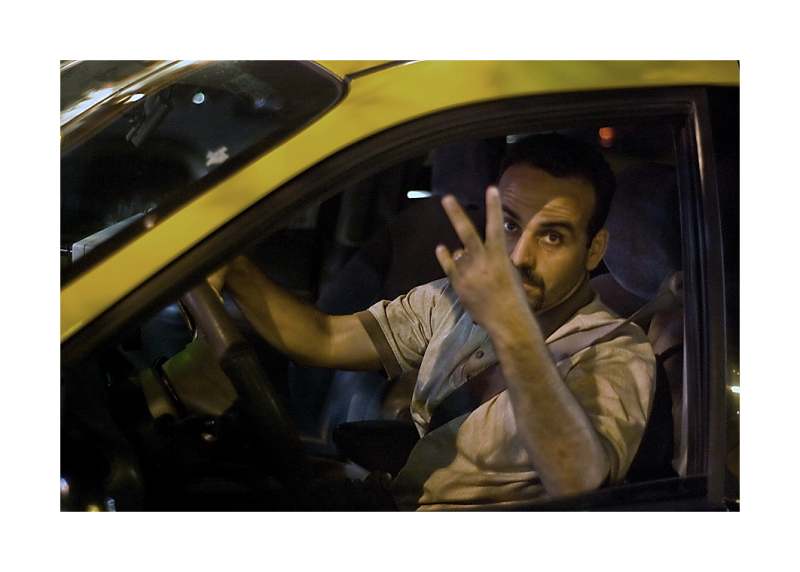 Austin Nightscapes:  Taxi Driver
