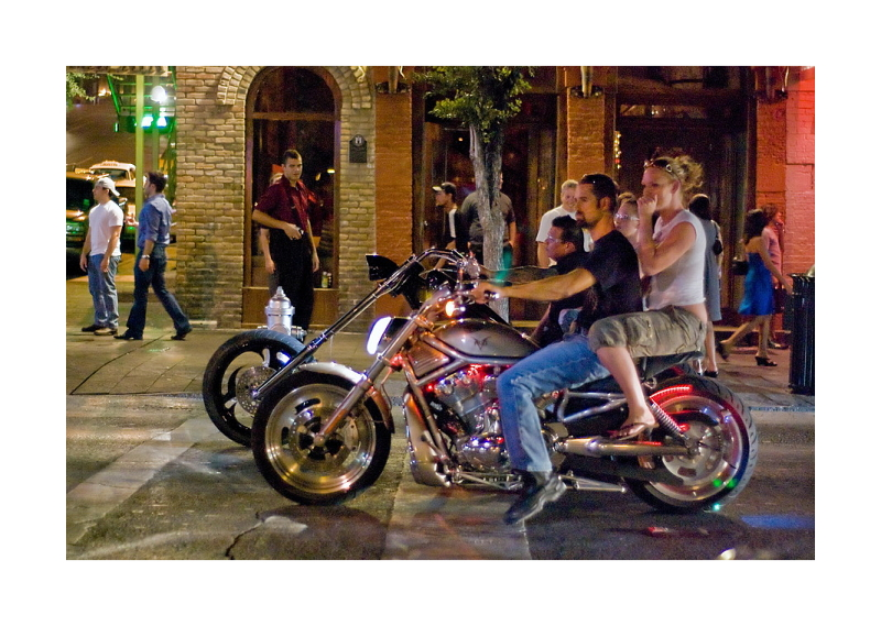 Austin Nightscapes: Wild Hogs