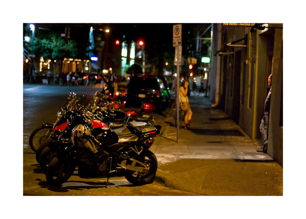 Austin Nightscapes: Motorcycle Club