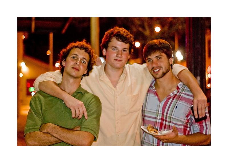 Austin Nightscapes: 3 Guys