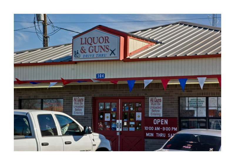Liquor and Guns