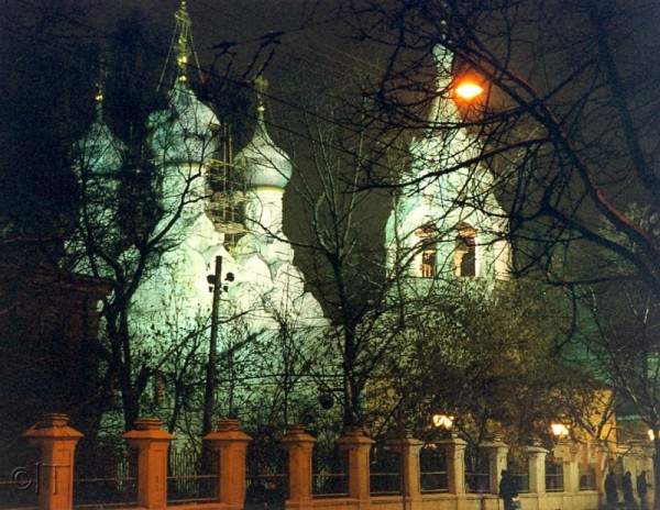 Russia. Moscow. Church