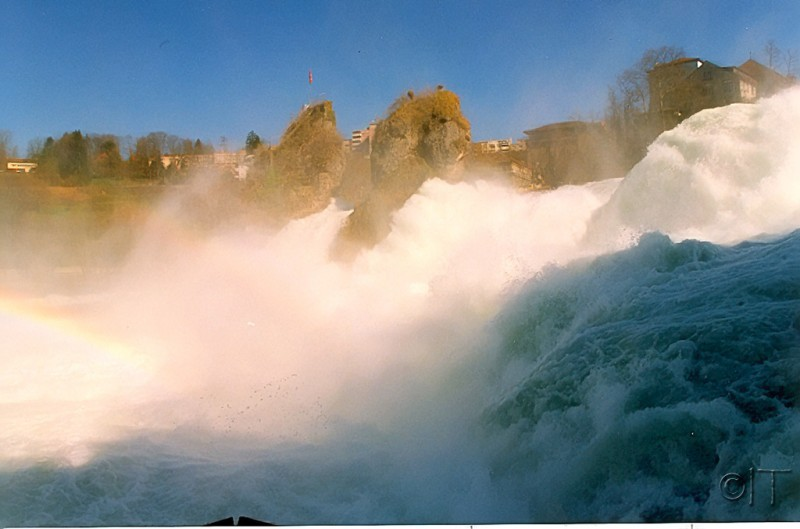 Switzerland. Rhine Falls