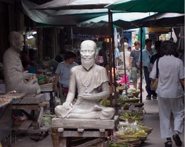 Thailand. Bangkok. Amulet Market