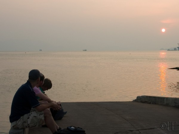 Thailand. Waiting for ferry to Koh Chang