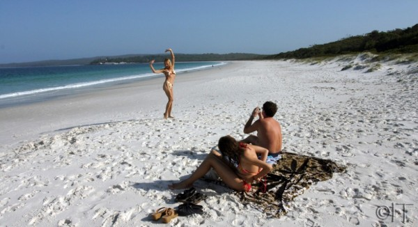 Australia. Jarvis Bay. Hyams Beach