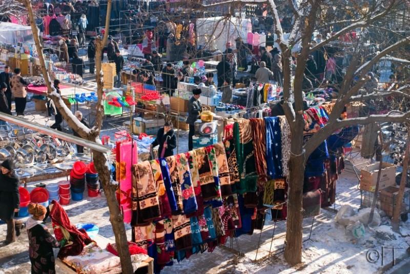 Uzbekistan. Tashkent. Chorsu bazaar 1