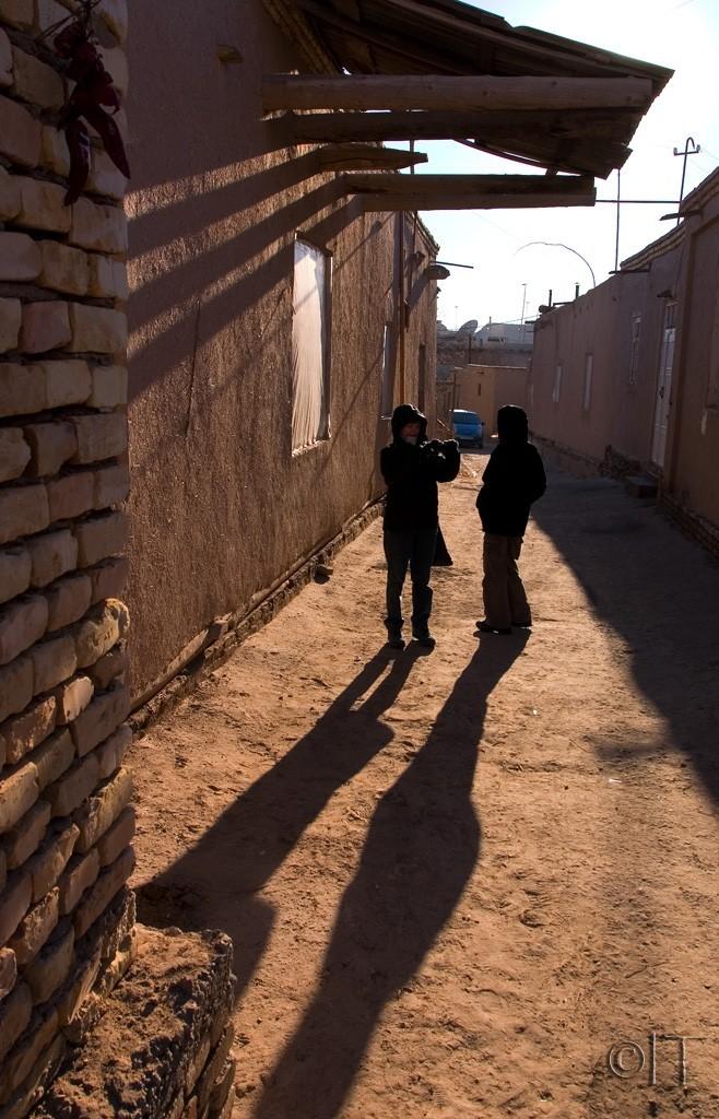 Uzbekistan. Khiva. Shadows