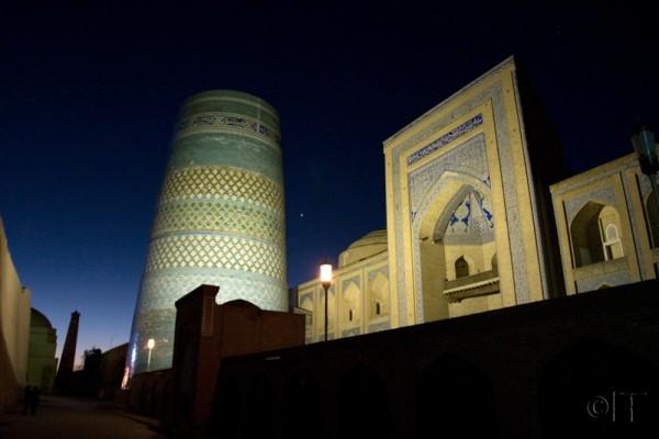Uzbekistan. Khiva. Dawn