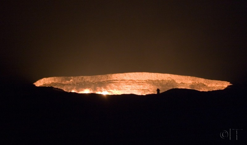 Turkmenistan. Darvaza Gas Crater