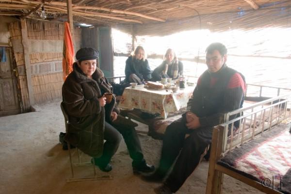 Turkmenistan. Karakum desert. Chaikhana