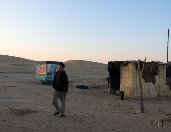 Turkmenistan. Karakum desert. Jerbent