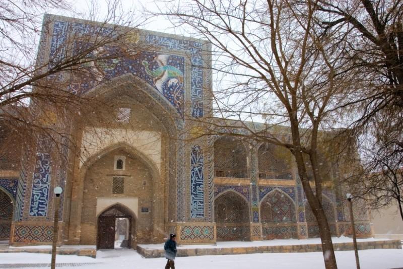 Uzbekistan. Bukhara. Nadir divanbegi Medressa