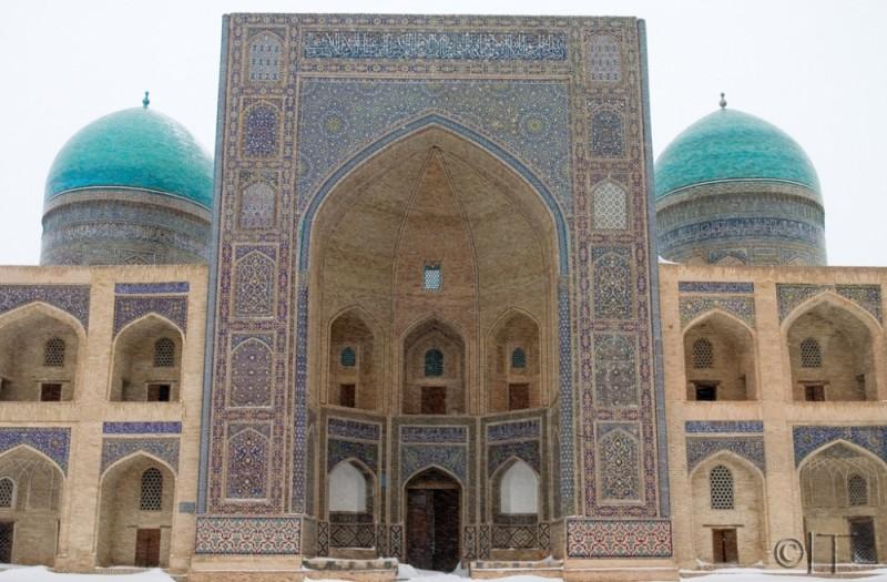 Uzbekistan. Bukhara. Mir-i-Arab Medressa