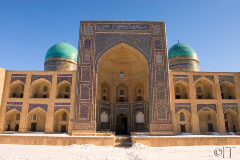 Uzbekistan. Bukhara. Mir-i-Arab Medressa.