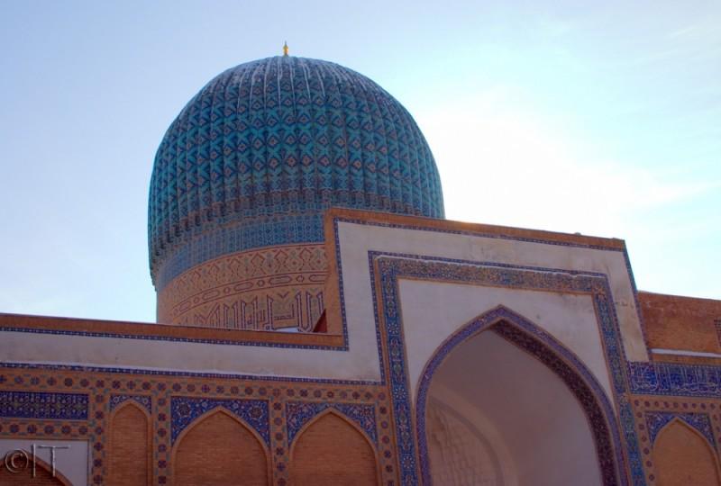 Uzbekistan. Samarkand. Giri Amir Mausoleum
