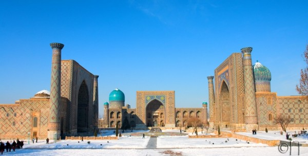 Uzbekistan. Samarkand. Registan