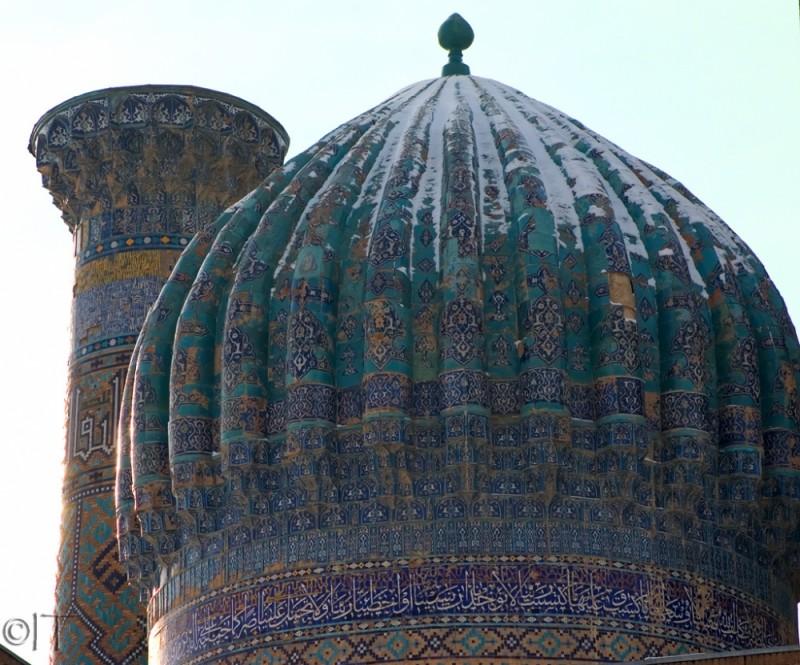 Uzbekistan. Samarkand. Sher Dor Medressa