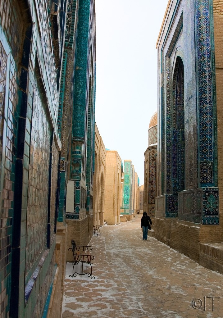 Uzbekistan. Samarkand. Shah-i-Zinda