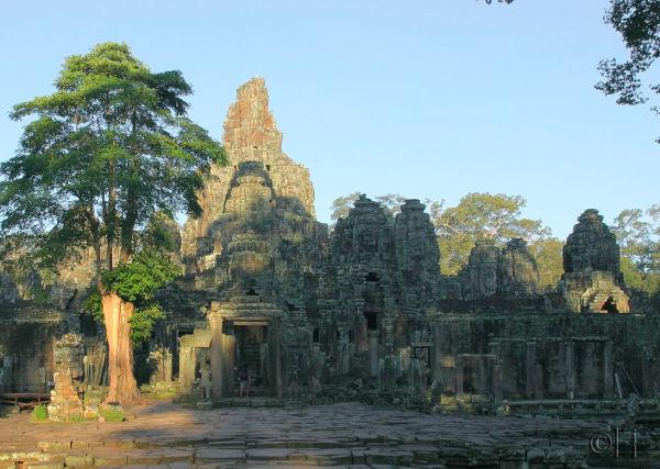 Cambodia. Angkor. Bayon 1.