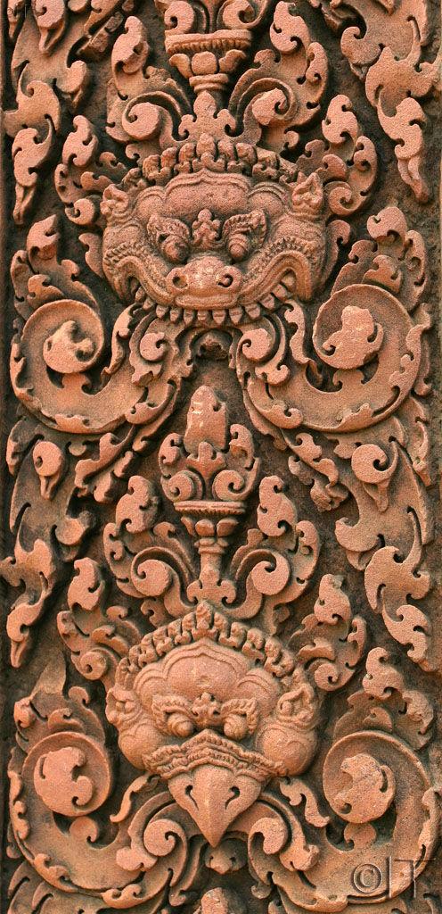 Cambodia. Angkor. Banteay Srei 1.