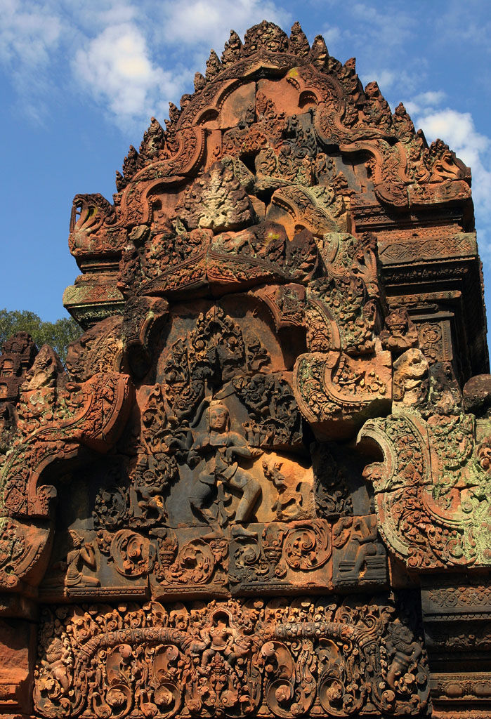 Cambodia. Angkor. Banteay Srei 2.