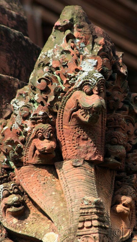 Cambodia. Angkor. Banteay Srei 4.