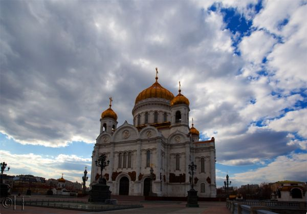 Moscow. Cathedral of Christ the Saviour.