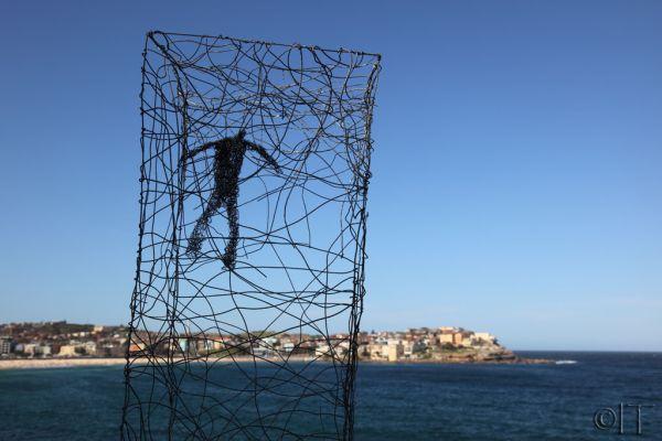 Australia. Bondi Beach. Sculpture by the sea.