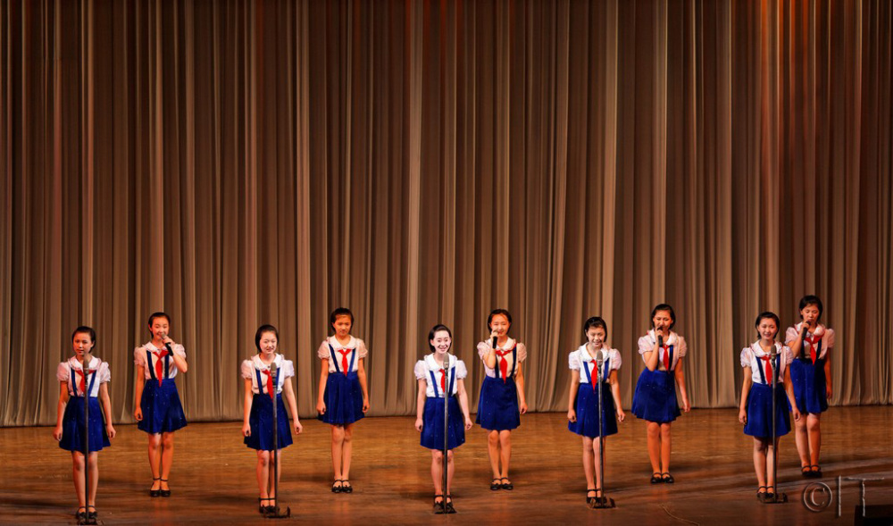 North Korea. Student and Children's Palace.