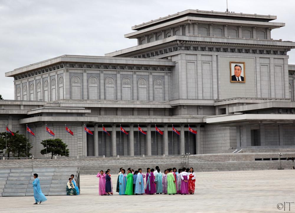 North Korea. Kumsusan.